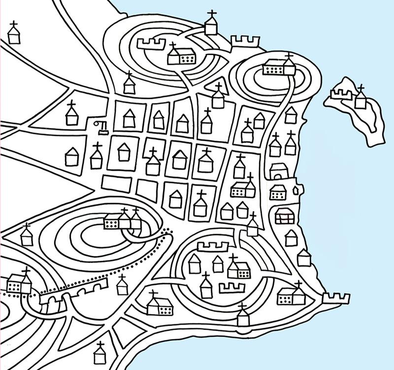 Mapa Rio